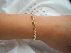 Dainty Gold Filled Jewelry based in Los Angeles by DianaHoDesigns Dainty Gold Jewelry, Dainty Bracelets, Gold Filled Jewelry, Gold Filled Chain, Simple Jewelry, Real Gold Bracelet, Retro Chic, Matching Necklaces, Birthstone Jewelry