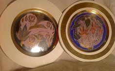 This gorgeous pair of original hand painted by Lulubellebazaar, $200.00