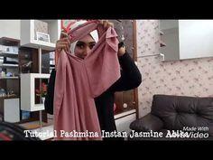 Tutorial Pashmina Instan Jasmine-abika hijab - YouTube Hijab Bride, Pakistani Wedding Dresses, Wedding Hijab, Muslim Fashion, Hijab Fashion, Fashion Outfits, Baby Hijab, Pashmina Hijab Tutorial, Turban Hijab