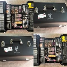 http://www.youtube.com/channel/UCqEqHuax3qm6eGA6K06_MmQ?sub_confirmation=1 Besides the amazing makeup the most uplifting and empowering women I get to work with the fact that we can earn hostess rewards to build our supply and also earn incentives such as this gorgeous makeup trunk that I can now pack my cash & carry in!!! I mean SERIOUSLY??!! Can it get any better???? #Younique #captivatingcosmeticsbykat #makeup #mua #makeuptrunk #youniquetrunk #makeupcase #vendor #event by…
