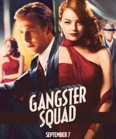Gangster Squad (2012)  love ryan g. and emma stone together