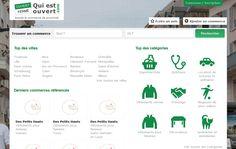 Retrouvez sur la page d'accueil de Quiestouvert.com le top des villes et le top des catégories avec le plus de #commerces de #proximité : http://www.quiestouvert.com/blog/articles/top-des-villes-et-top-des-categories-avec-le-plus-de-commerces-de-proximite-57.html