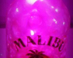 Rolling Stones wine bottle lamp Rolling stones by TheTipsyBride