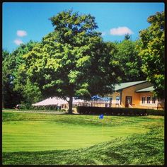 Lakeville's rustic club house.  Perfect for hosting private events and golf tournaments! #golf #boston #lakeville