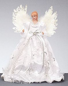 Premier Decorations Branded Large Christmas Tree Top Angel, Choose from 2 Festive Colours (Silver) Ghost Of Christmas Past, Angel Christmas Tree Topper, Large Christmas Tree, Christmas Tree Crafts, Angel Ornaments, Christmas Angels, Christmas Decorations, Christmas Ornaments, Willow Tree Cake Topper