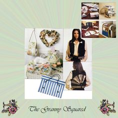 No-Sew Accessories: Vest, Neck Tie, Tote Bag, Wreath, Hat Box and Book Cover, Uses HeatnBond, McCalls Sewing Pattern 6837, FREE Shipping by TheGrannySquared on Etsy