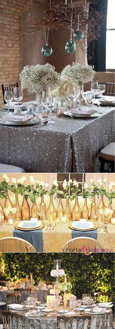 decoracao-baratinha-criativa-para-ano-novo-toalha-prateada-ou-dourada