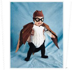Masked Owl DIY costume (or everyday wear, whatever)