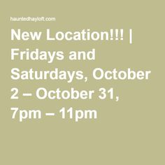 Open Fridays & Saturdays in October Halloween Attractions, October 2, Friday, Math, News, Math Resources, Early Math, Mathematics