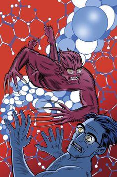 X-STATIX #20 Mike Allred, Comic Art Community, Marvel X, X Men, Spiderman, Comic Books, Superhero, Comics, Gallery