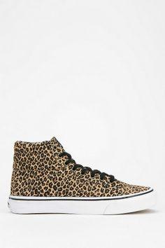 Vans Sk8 Leopard Women's High-Top Sneaker #urbanoutfitters