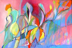 "Witness  24x36"", acrylic on canvas by Abol Bahadori"