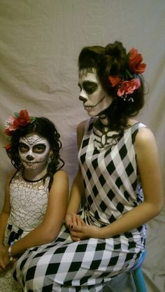 Day of the Dead photo shoot. 2015.