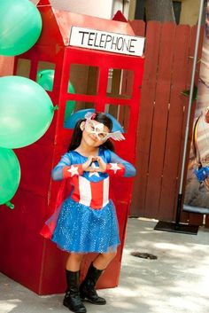 "Photo 1 of 12: Superhero / Birthday ""A Super Birthday Party For A Supergirl!"" 