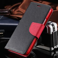 S4 Luxury Leather Flip Case for Samsung Galaxy S4 SIV i9500 Wallet Stand Cover + Card Slot Accessories Elegant Fashion Cute