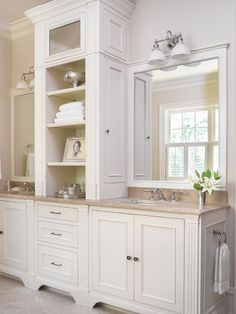 Master Bathroom Vanities if we end up with a long counter and two sinks i would want