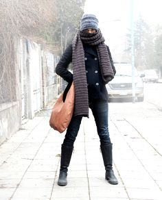 Chocolate color BIG OAK bag warms up cold days! You can find us here http://www.oak-bags.com/