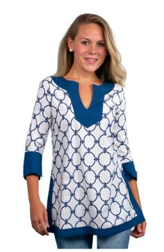 BANDED CHAIN TUNIC