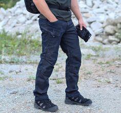 Nohavice UTP Jeans Denim, Helikon
