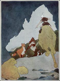 Nils Holgerson, Illustrations by Mary Hamilton Frye