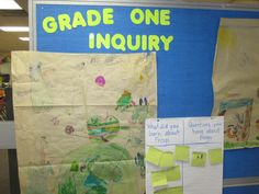 Inquiry-based learning in grade one!                                                                                                                                                      More