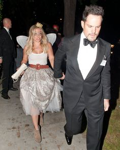 Hilary Duff was a tooth fairy and Mike Comrie was her escort in LA in | Over 250 Celebrity Halloween Costumes! | POPSUGAR Celebrity Photo 105