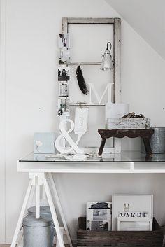 Ikea Vika Gruvan desk mix of old and new