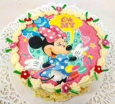 Minnie, přítelkyně Mickey Mouse, dortík pro děti . www.cukrovi-kuncovi.cz Mickey Mouse, Birthday Cake, Desserts, Food, Tailgate Desserts, Deserts, Birthday Cakes, Essen, Postres
