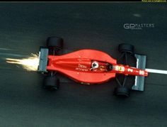 1984 Nigel Mansell in Ferrari OH this is a stunner WOW
