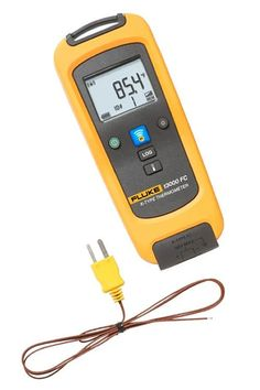 The Fluke T 3000 FC Wireless K-Type Temperature Module is one member of a family of wireless test tools that let you share test data using the Fluke Connect® app with ShareLive™ video call