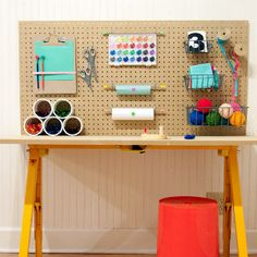 Kids' Craft Station | AllFreeKidsCrafts.com
