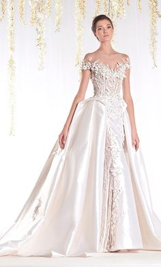 @Maysociety Ziad Nakad - THE WHITE REALM Bridal Collection ​
