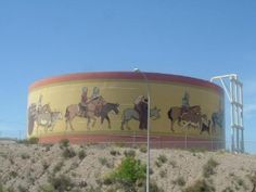 OUR HUGE WATER TANK BY WALMART :) HAD TO LAUGH WHEN I SAW SOMEBODY WOULD TAKE A PICTURE OF THIS