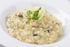Creamy Homemade Risotto Is Easier Than You Think: Sauté Onion in Hot Butter and Oil