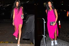 Rihanna's Sneaky Footwear Trick Just Solved a MAJOR Fashion Problem