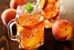 Şeftali aromalı soğuk çay tarifi