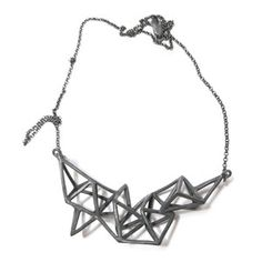 Bad Polyhedron Necklace Small - now featured on Fab. Wow - love this...