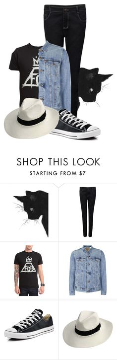 """""""THE WORLD IS AN IMPERFECT PLACE"""" by for-centuries ❤ liked on Polyvore featuring Topman, Converse, patrickstump, halloweencostume and margaritastyle"""