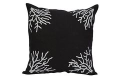 cool for a black and white themed beach cottage or guest room