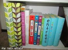 How to organize your recipes - this is a fantastic blog too for organization in general.