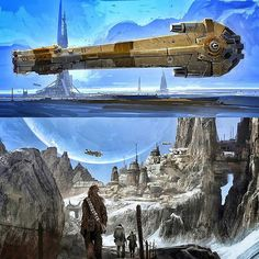 Art of Solo A Star Wars Early Concept Art  #starwars #hansolo #soloastarwarsstory #hansolomovie #hansolo #solo #drydenvos #ladyproxima #rangetrooper #millenniumfalcon #enfysnest #landocalrissian #chewbacca #qira #tobiasbeckett #l337 #conceptart #artofstarwars #artofsoloastarwarsstory