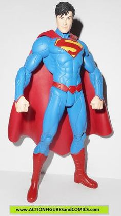dc direct SUPERMAN NEW 52 collectibles action figures universe