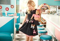 Maryellen's Poodle Skirt Outfit & Pretty Poodle Dress for Girls