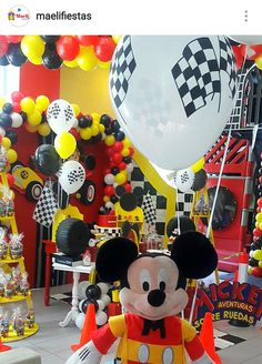 Mickey Mouse Adventure on Wheels Birthday Party