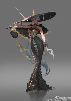 ArtStation - The sword master, bird big