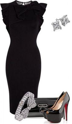 Look! Маленькое черное платье! 6