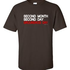 SECOND MONTH SECOND DAY (February 2nd). Only at LOVEgroundhogs.com