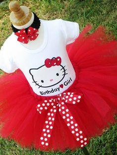 Hello Kitty birthday outfit