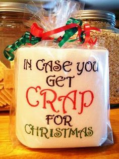 Hide a Little Cash in Christmas Gag Gift.