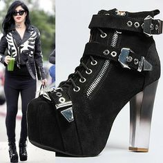 Kat Von D Rocks Another Crazy-Cool Jeffrey Campbell from Her Rad Shoe Collection